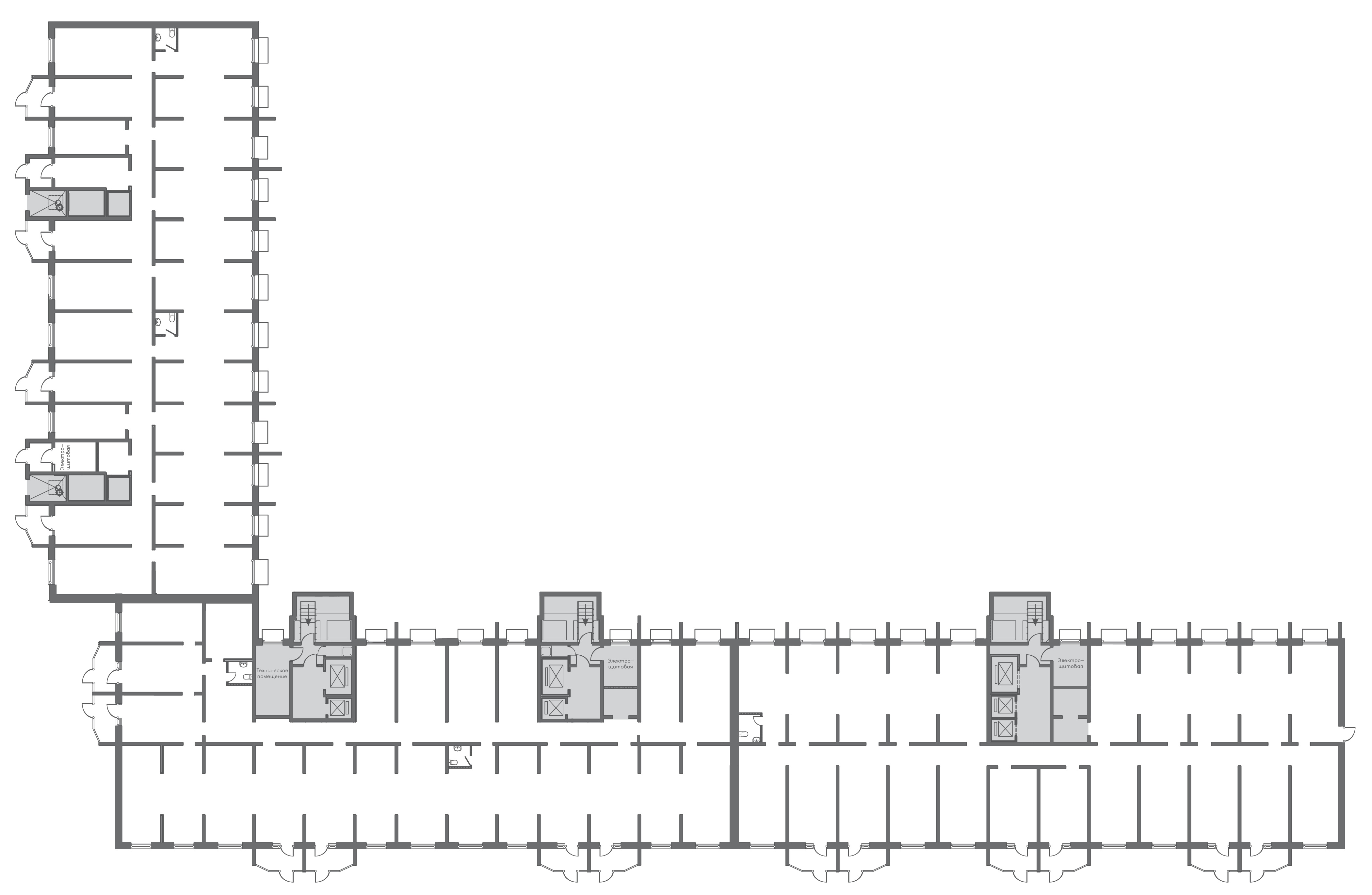 Коммерция Первый Зеленоградский Трехсвятская 6 этаж -1