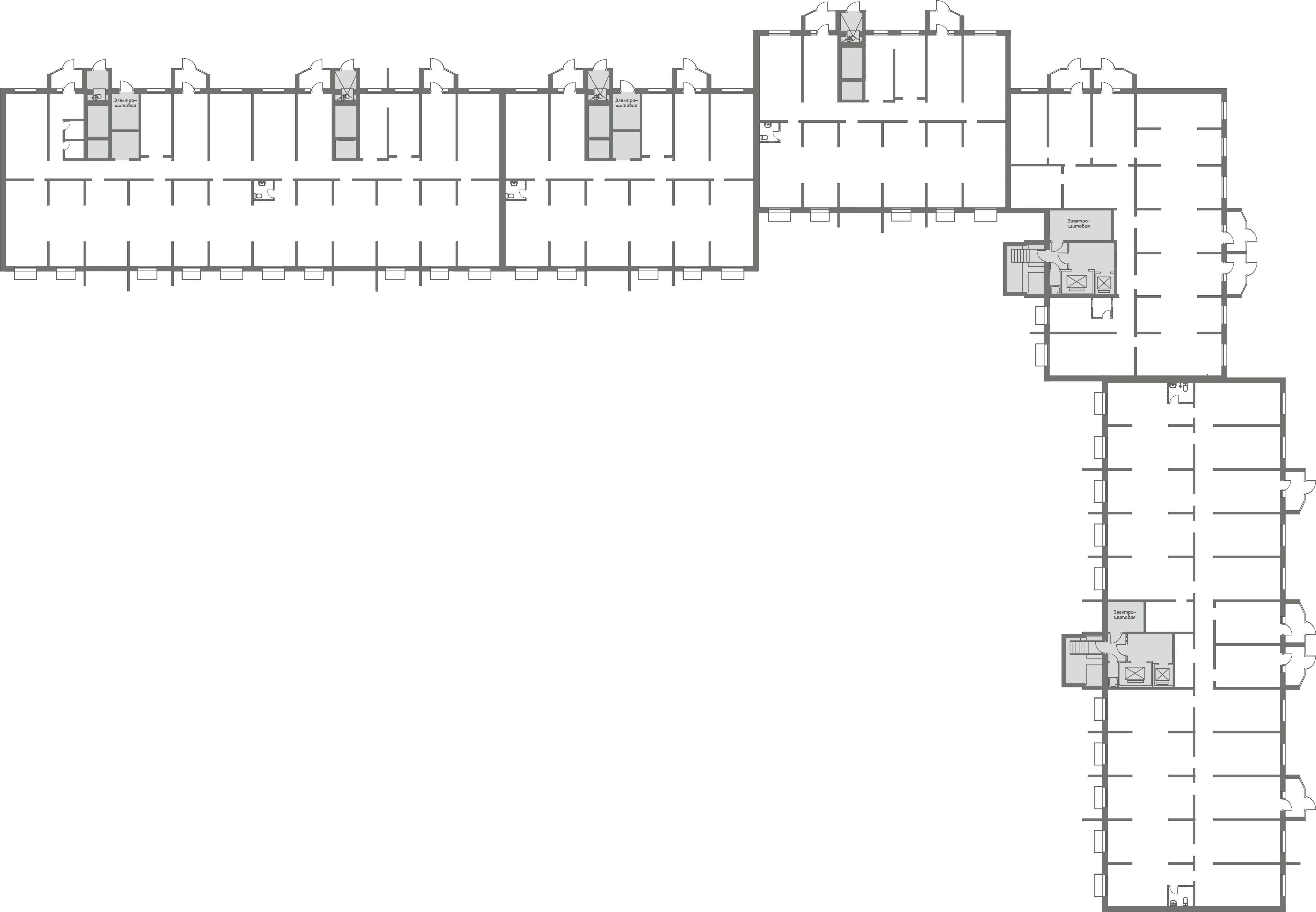 Коммерция Первый Зеленоградский Тверецкий проезд, 16 корп. 1 этаж -1