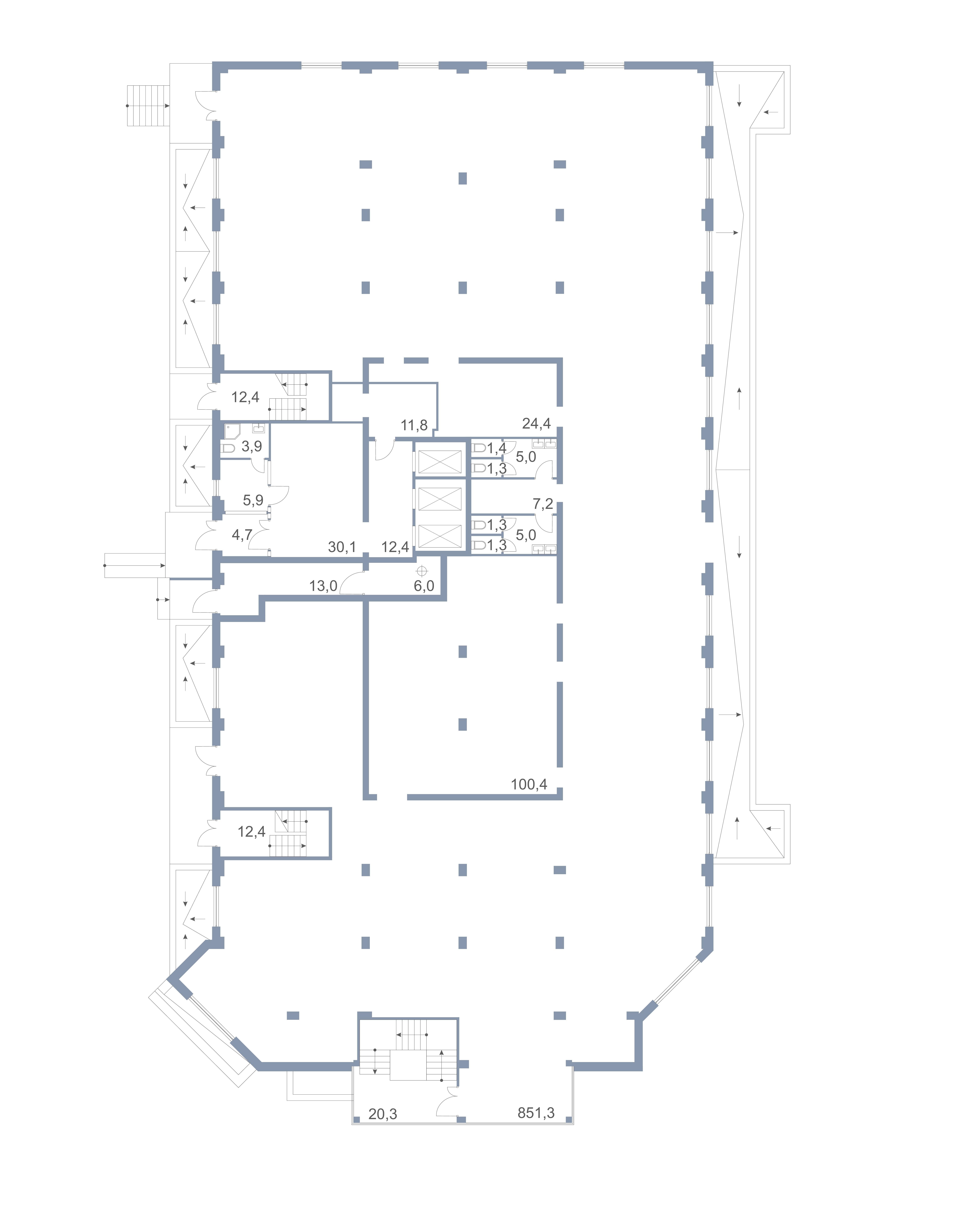 Коммерция Первый Зеленоградский Сургутский проезд 1 корп.1 этаж 1