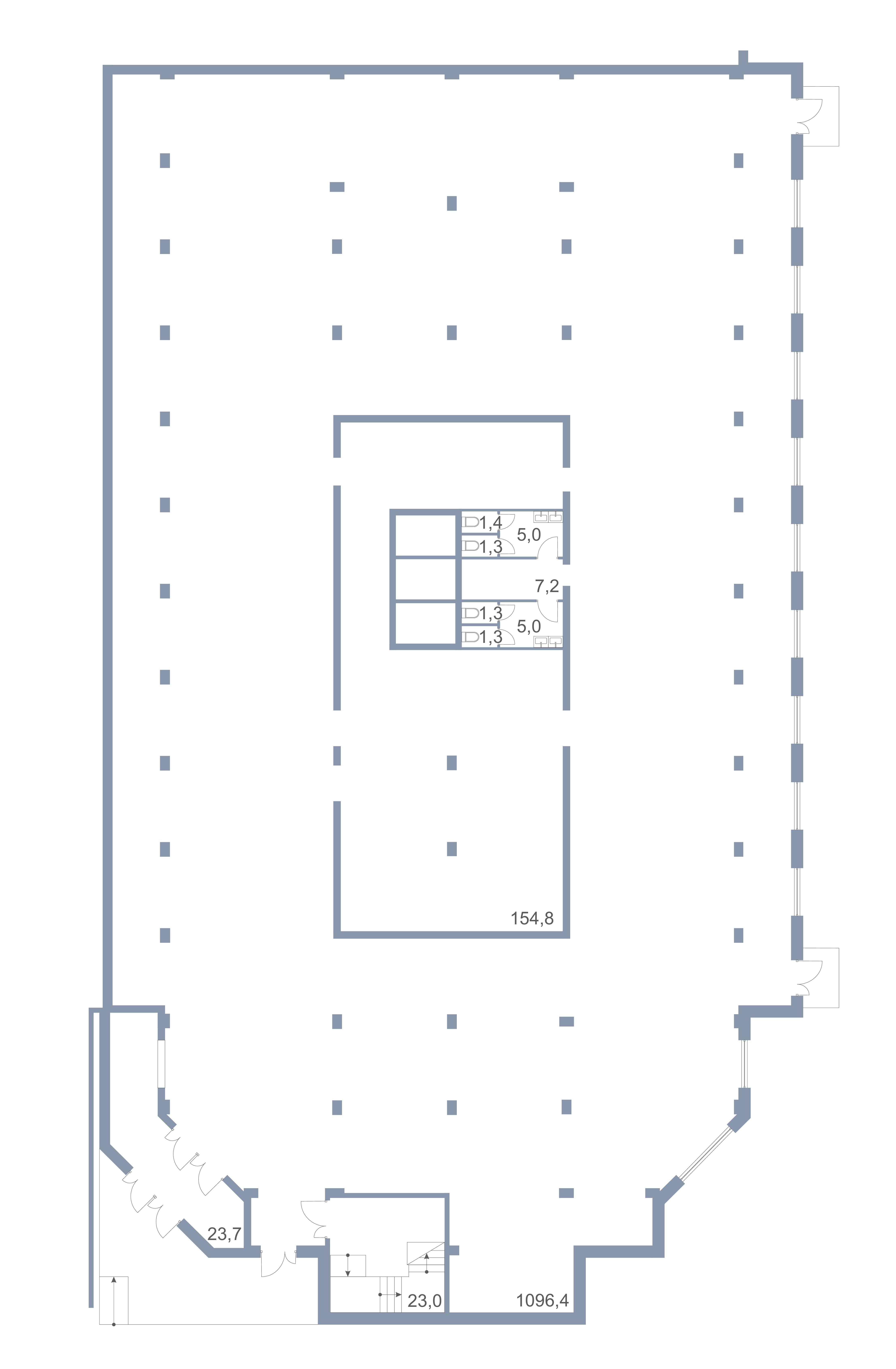 Коммерция Первый Зеленоградский Сургутский проезд 1 корп.1 этаж -1