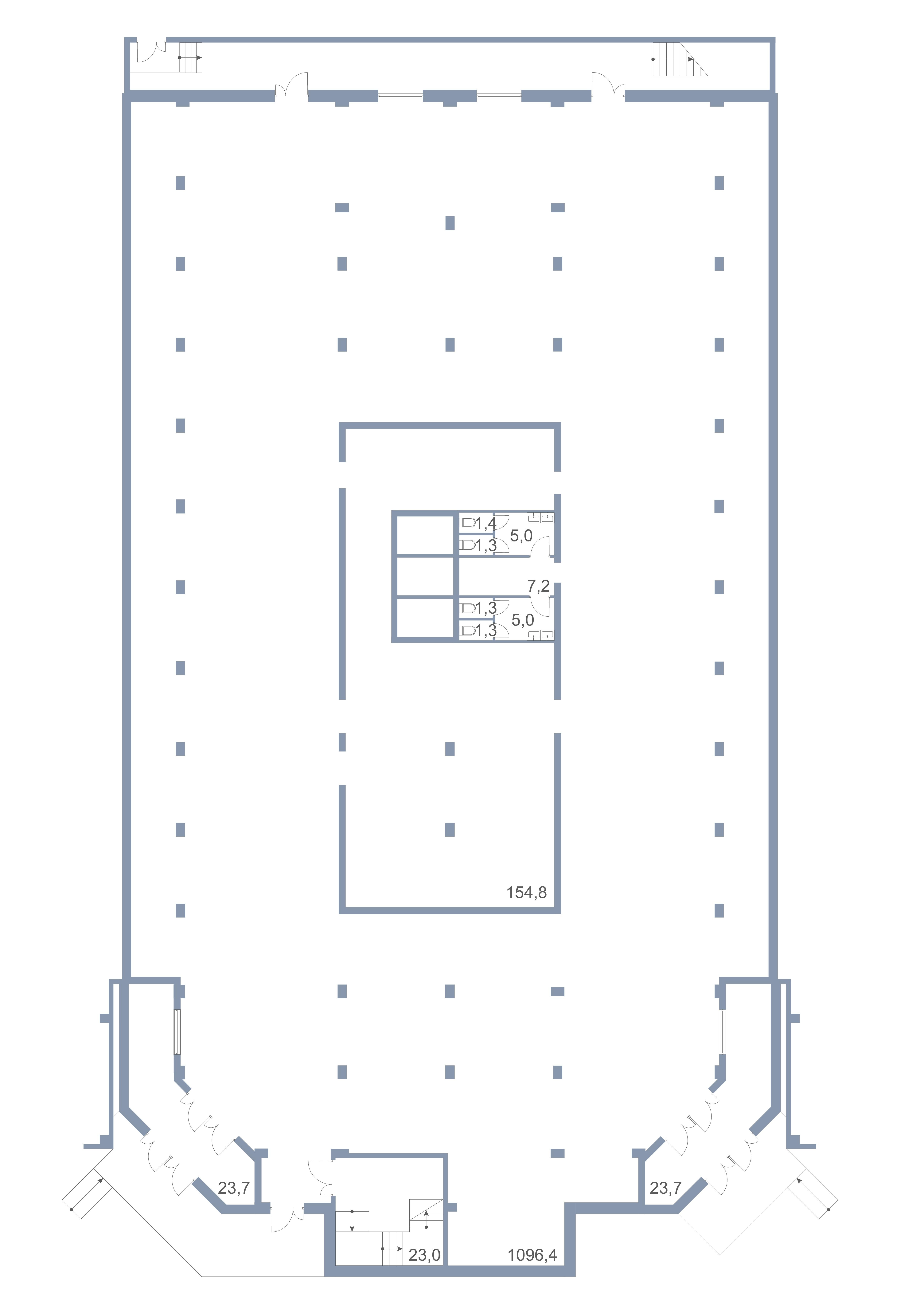 Коммерция Первый Зеленоградский Сургутский проезд 1 корп.2 этаж -1