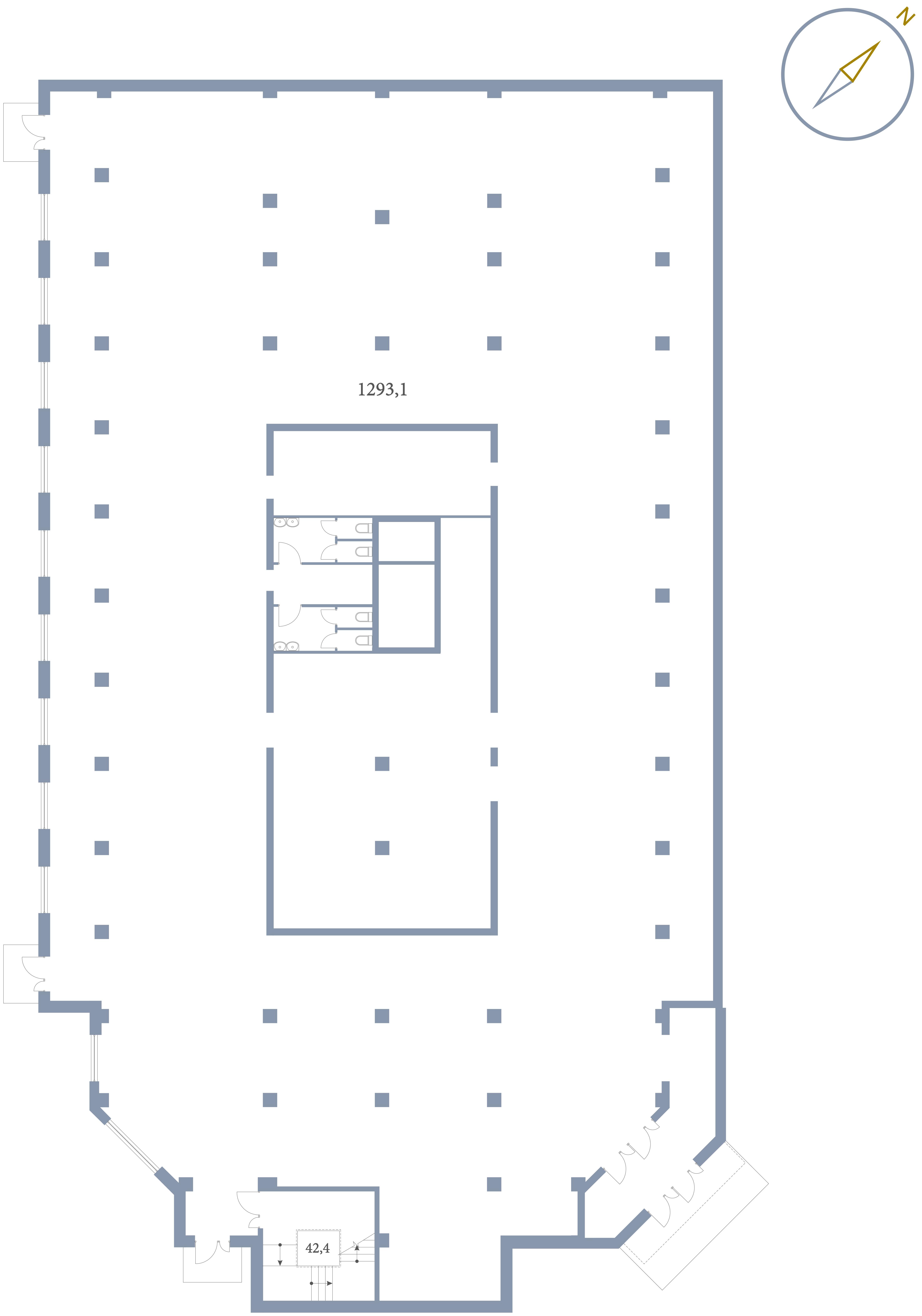 Коммерция Первый Зеленоградский Сургутский проезд 1 корп.3 этаж -1