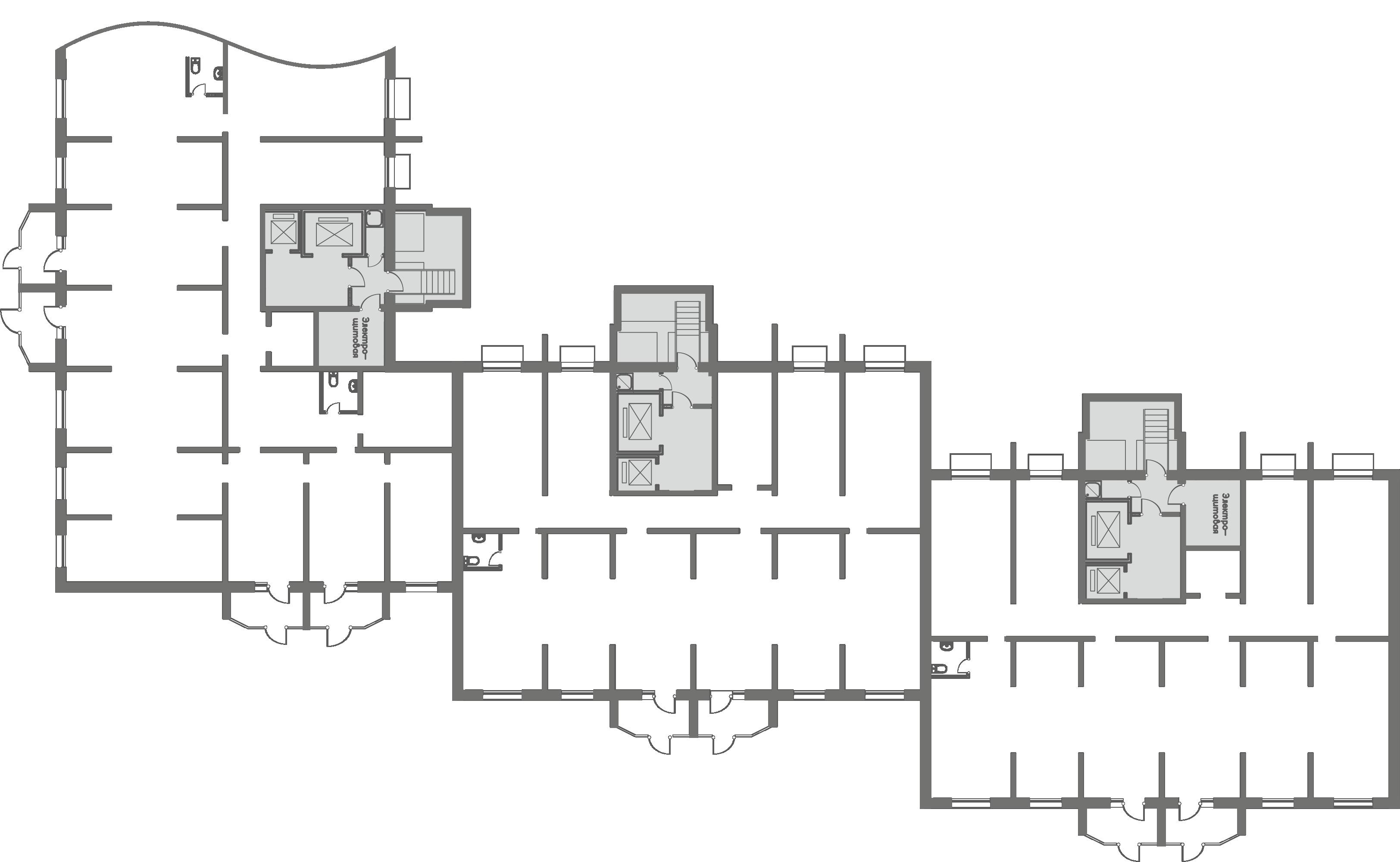 Коммерция Первый Зеленоградский Тверецкий проезд, 16 корп. 2 этаж -1