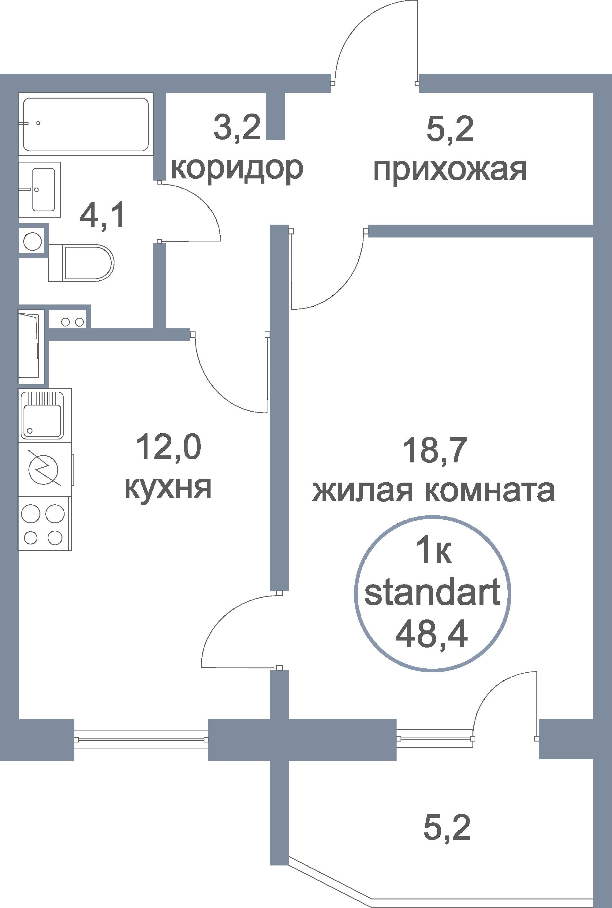 flat plan